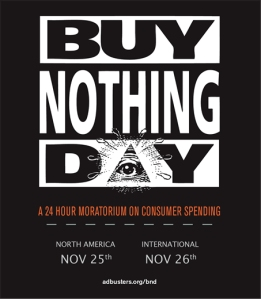 Buy Nothing Day promo